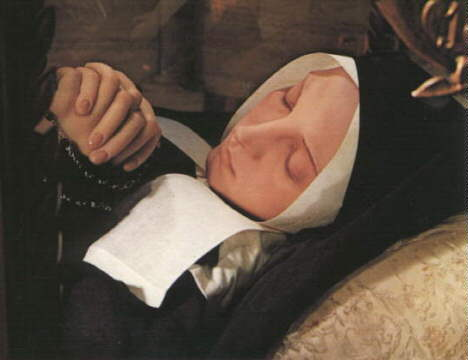 Incorrupt Body of St. Bernadette
