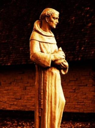 St. Francis Statue Fayette Iowa